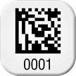 Create 2D Barcode Square Asset Tags