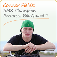 Connor Fields endorses BikeGuard Asset Tags