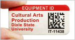 Equipment ID labels