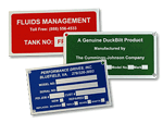 Metal Equipment Name Plates