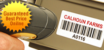 Low Cost Barcode Labels