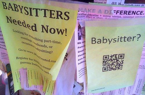 Babysitter QR
