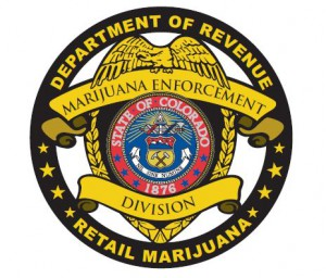 Department of Revenue Marijuana Enforcement Division insignia