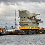 On Britain's largest warship, QR codes map the way