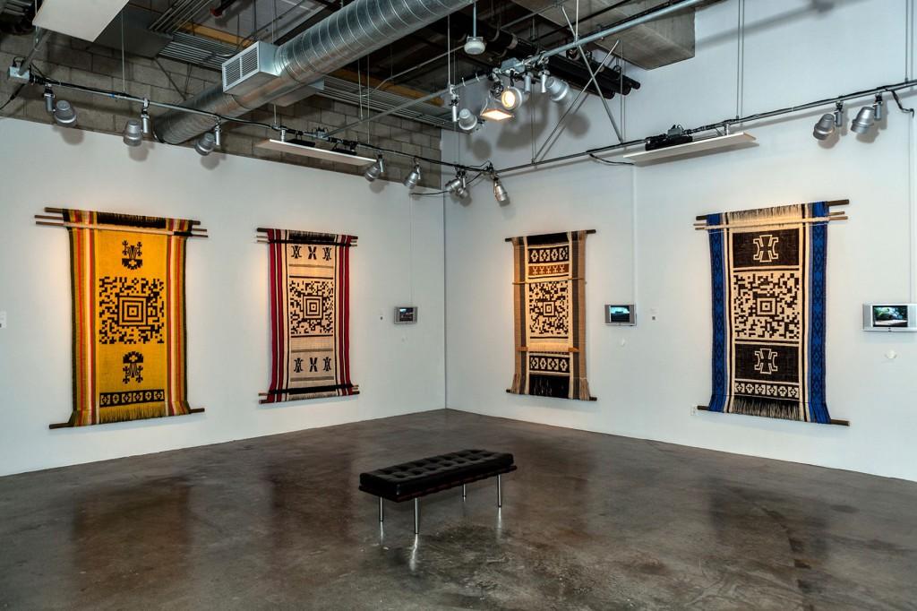 Guillermo Bert textile art