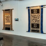 Artist Guillermo Bert weaves QR codes into indigenous tapestries