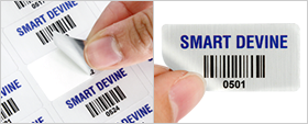 Affordable asset labels